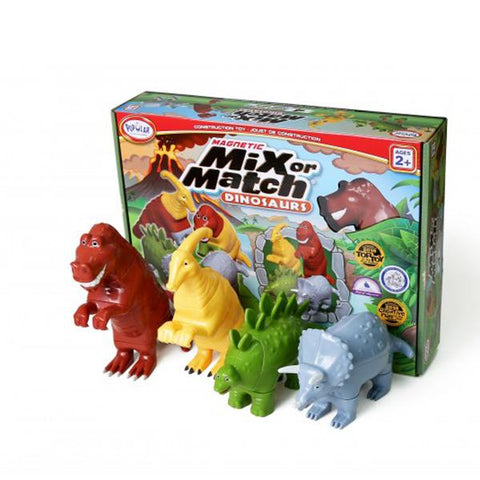 Mix Match Dinosaurs | Popular Playthings | Dinosaur toys | Lucas loves cars