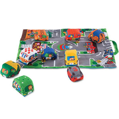 Baby Take Along Cars in Town | Melissa & Doug |  Lucas loves cars