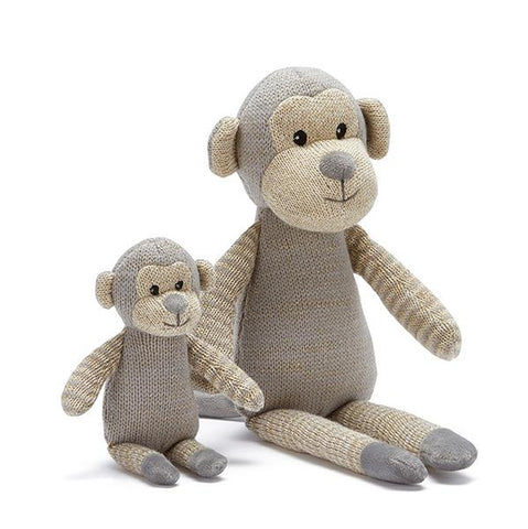 Glitter Monkey soft toy | Nana Huchy | Lucas loves cars