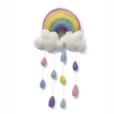 Nana Huchy  |  Rainbow wall hanging | Baby gifts | Lucas loves cars