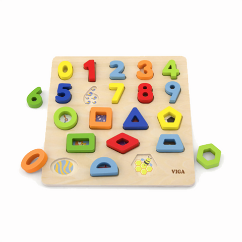 numbers and shapes puzzle  | Viga toys | Toys for 4 year olds | Lucas loves cars