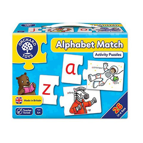 Orchard Toys | Alphabet Match Puzzle | alphabet games | Lucas loves cars