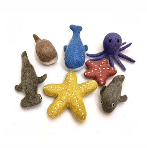 Papoose toys | Felt Sea Animals | Lucas loves cars