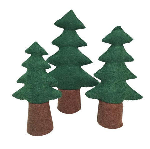 Papoose pine trees | small play world  | Papoose toys | Lucas loves cars