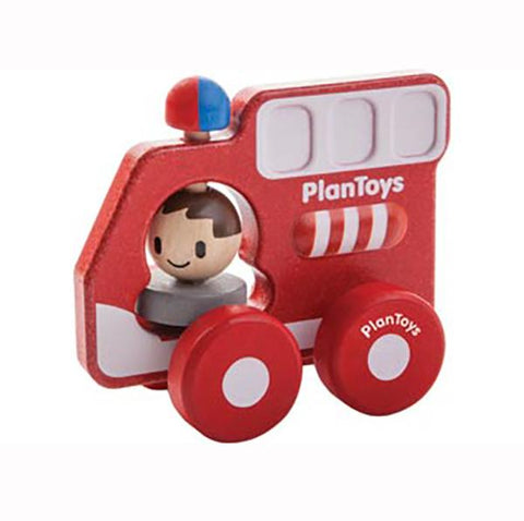 Plan toys | Fire Truck toy | Eco Toys | Lucas loves cars