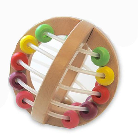 Wooden Play ball - Colour