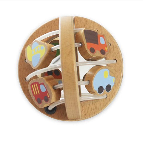 Wooden Play ball - Traffic