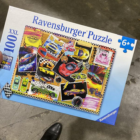 Ravensburger puzzles | Dream Cars Puzzles | Kids jigsaws | Lucas loves cars