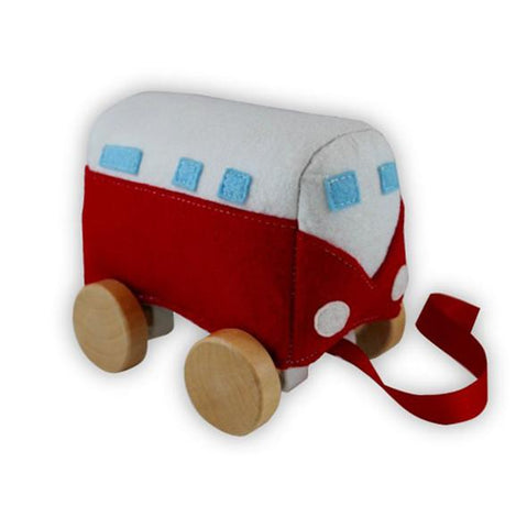 Red Kombi Baby toy | Kombi toy | Discoveroo | Lucas loves cars