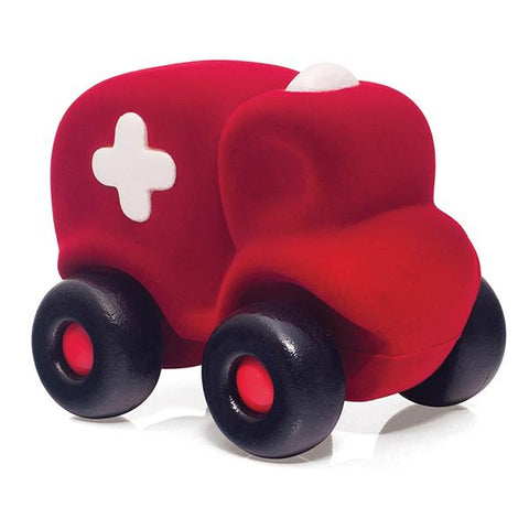 Rubbabu sensory tactile large ambulance  | Australian toy store | lucas loves cars