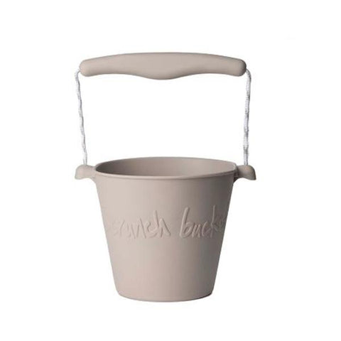 Scrunch Bucket Light Grey