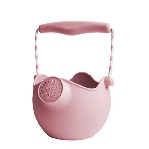 Scrunch Watering Can Dusty Rose  | scrunch Australia | Beach toys | Lucas loves cars