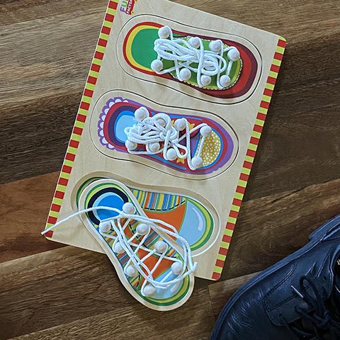 Shoe Lacing puzzle
