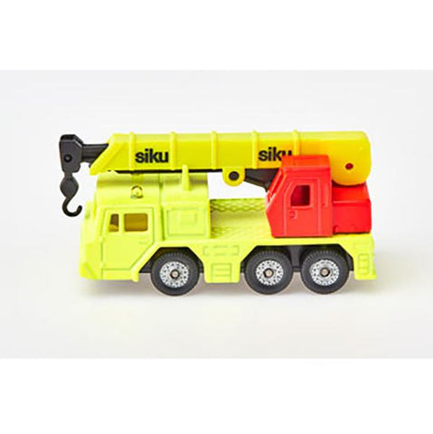SIKU Hydraulic Crane | siku toy cars | Lucas loves cars