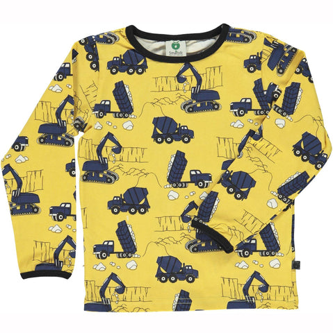 Smafolk Construction kids top | Smafolk Australia | Lucas loves cars