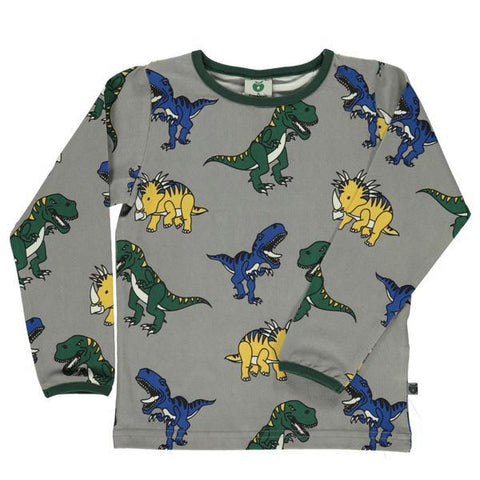 Smafolk Dinosaurs Organic cotton kids top | Smafolk Australia | Lucas loves cars