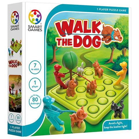 Smart Games Walk the Dog | smart games online australia | Kids logic game | Lucas loves cars