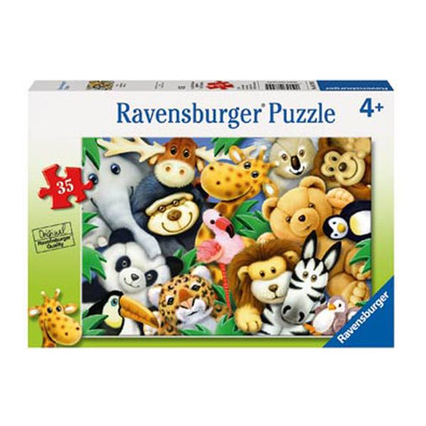 Ravensburger Puzzles | Soft Toys Jigsaw  Puzzle | Jigsaws for kids | Lucas loves cars