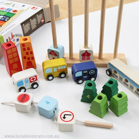 IM TOY | SORT and COUNT wooden cars | Lucas loves cars