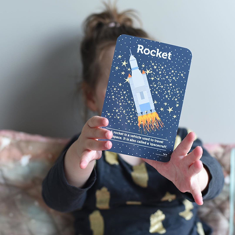 Space Flash cards | Rockets and space toys  | Lucas loves cars