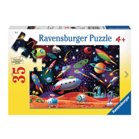 Ravensburger Puzzles | Space Jigsaw | Jigsaw for 4 year olds |  Lucas loves cars
