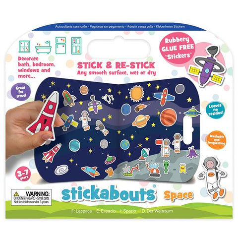 Stickabouts Space | Space Stickers | space toys | Lucas loves cars