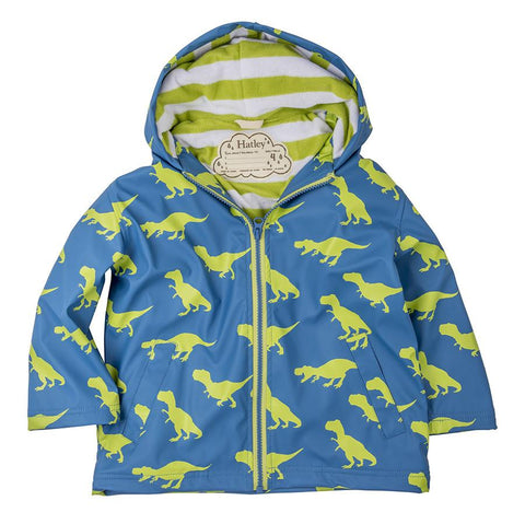 Hatley - Splash jacket - T-rex | Hatley |  Lucas loves cars