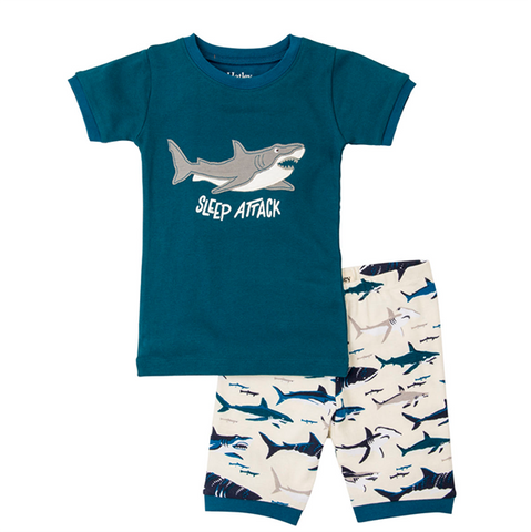 Hatley Summer PJ - Toothy Shark | Hatley |  Lucas loves cars