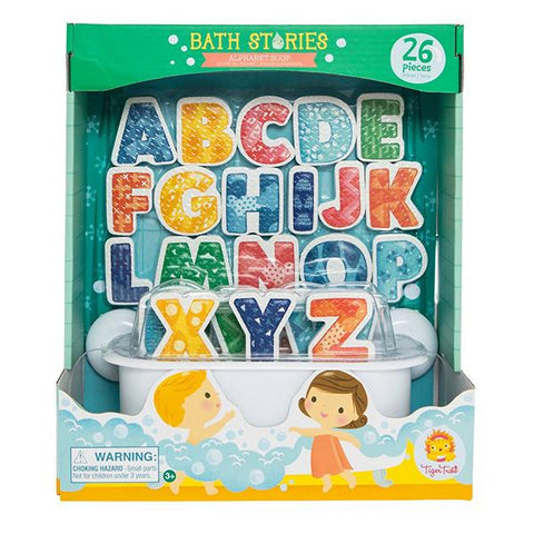 Tiger Tribe Alphabet bath toy  | Educational toys | Lucas loves cars