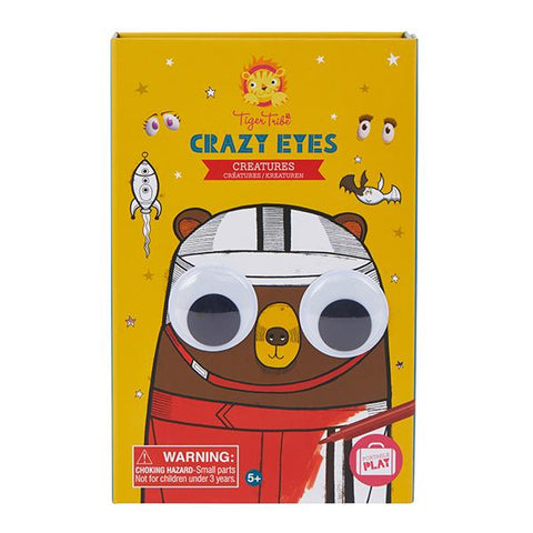 Tiger Tribe | Crazy eyes creatures  | Tiger Tribe colouring set | Lucas Loves Cars