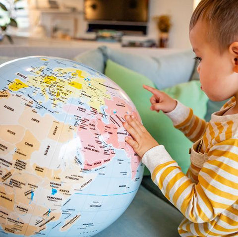 Tiger Tribe World Globe | Tiger Tribe | Kids World Globe | Lucas loves cars