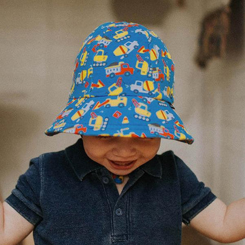 Bedhead Baby Bucket hats | Baby trucks | Baby gift | Lucas loves cars