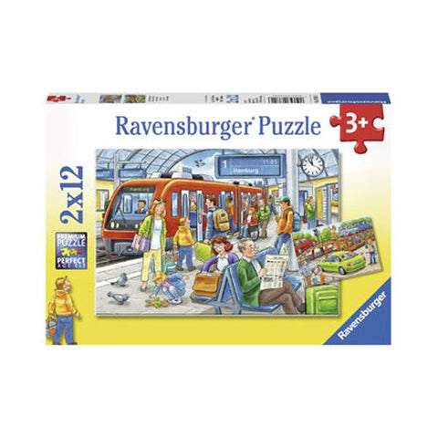 Ravensburger puzzles | Car train jigsaw | Kids jigsaws | Lucas loves cars