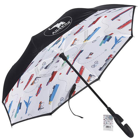Inside out umbrella - Transport
