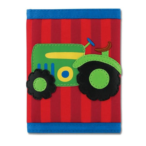 Stephen Joseph farm wallet | Lucas loves cars