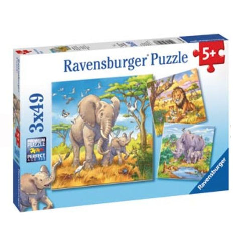 Ravensburger puzzles | Wild Animal Puzzle | Kids jigsaws | Lucas loves cars