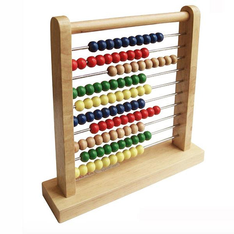 Wooden Abacus toy | Fun Factory toys |  Lucas loves cars