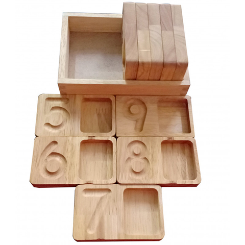Counting trays | learning numbers | wooden toys | Lucas loves cars