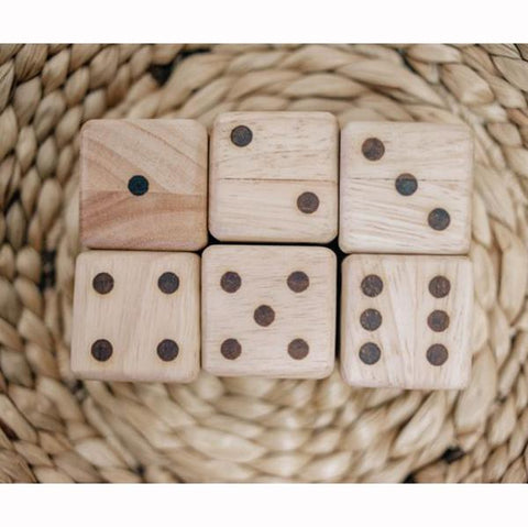 Wooden dice | wooden toys  | Wooden games | Lucas loves cars