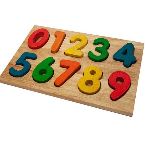 Wooden numbers | wooden toys | Number puzzle  | Lucas loves cars
