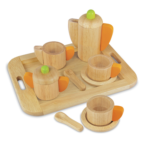 Wooden tea set | Im Toy | Wooden toys | Lucas loves cars