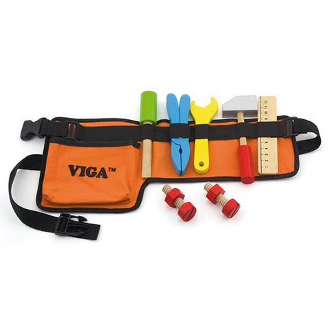Wooden Toys Tool Belt | Viga wooden toys | Lucas loves cars