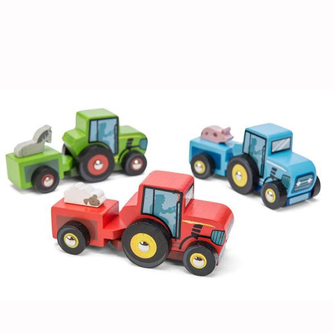 Le Toy Van |  Little Wooden Tractors |  Farm toys | Lucas Loves Cars