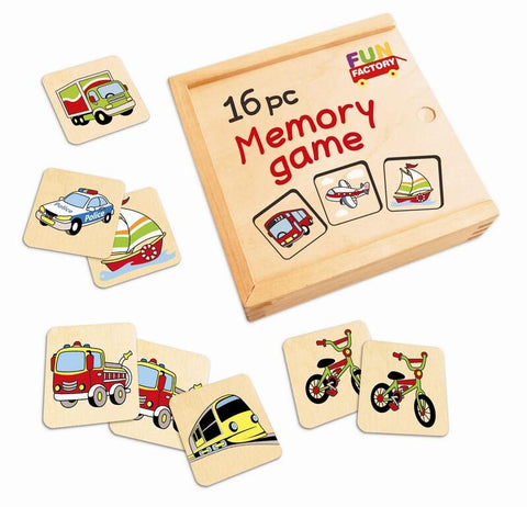 Memory game - Vehicles