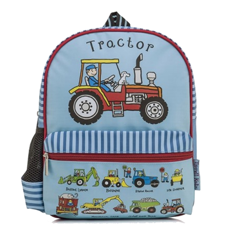 Tyrrell Katz Working wheels backpack | Lucas loves cars