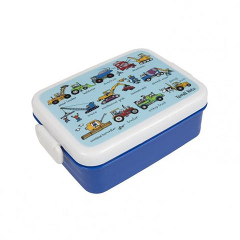 Working wheels lunchbox | Lucas loves cars