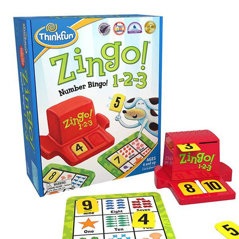 Zingo 123 | Think fun | logic games | Lucas loves cars