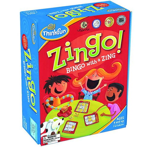 Zingo Bingo | Think fun | logic games | Lucas loves cars