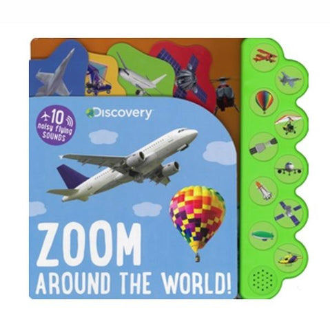 Planes sound book | Zoom around the world book  | kids books  | Lucas loves cars
