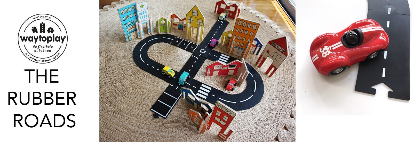 WAYTOPLAY RUBBER ROADS car toy store